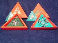 Christmas Star Ornaments Collection 1991 till 2020