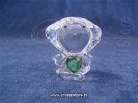 Birthstone Angel 05 - May Emerald Green