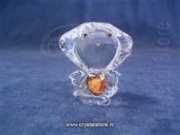 Birthstone Angel 11 - November Orange Topaz