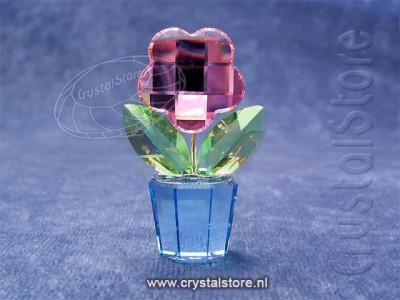 Swarovski Kristal 2003 627097 Flower Pink