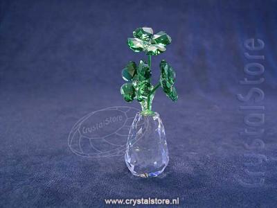 Swarovski Crystal - Flower dreams - Four leaf Clovers