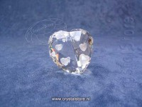 Love Heart Crystal Silver Shade