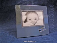 Baby Picture Frame, Crystal