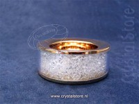Crystalline Tea Light Small Gold (limited edition)