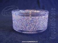 Shimmer Tea Light Holder Aurora Borealis