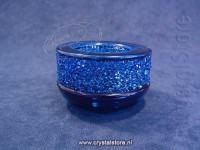 Shimmer Tea Light Dark Blue