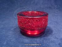 Shimmer Tea Light Red