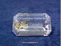 Title Plaque Colombine annual edition 2000