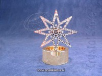 Tea Light Golden Star