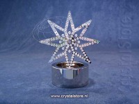 Tea Light Silver Star