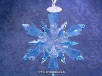 Frozen Snowflake Ornament