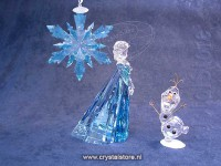 Set of Elsa, Olaf and Frozen Ornament