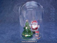 Bell Jar - Christmas Tree and Santa
