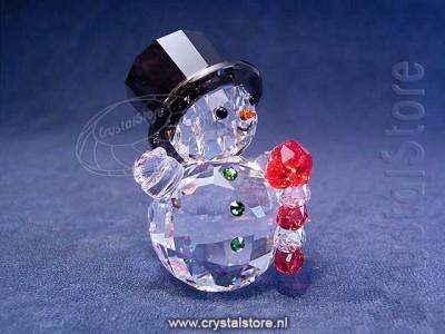 Swarovski Crystal - Snowman with Candy Cane