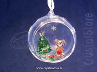 Ball Ornament- Christmas Scene
