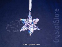 Christmas Ornament 3D Star Shimmer Small