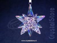 Christmas Ornament 3D Star Shimmer Medium