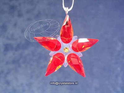 Swarovski Kristal 2012 905210 Kerstster ornament klein