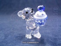 Kris bear  Blue Cupcake