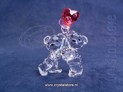 Swarovski Crystal - Kris Bear - Heart Balloons