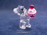 Kris bear  Pink Cupcake