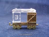 Train Freight Car - Gold