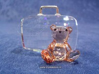 Cardholder Teddy Bear with Suitcase