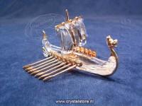 Viking Ship - Gold