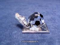 Soccer Trophy Rhodium