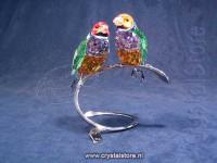 Gouldian Finches, Peridot
