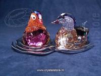 Mandarin Ducks, Topaz
